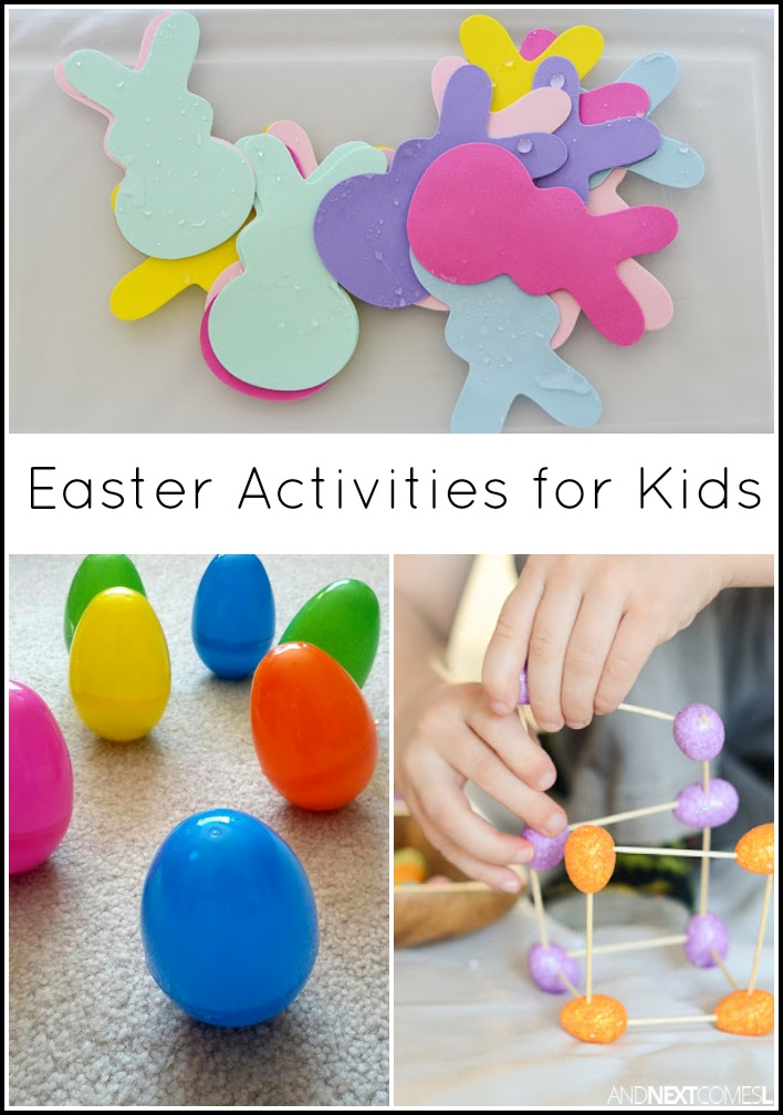 Easter activities for kids and next comes l for Easter crafts for elementary students
