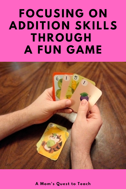 A Mom's Quest to Teach: Focusing on Addition Skills Through a Fun Game - A Review of Clumsy Thief Junior  - Game cards