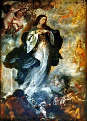 Inmaculada Concepción - Juan de Valdés Leal - 1660 - Palacio Vela de los Cobos - Úbeda