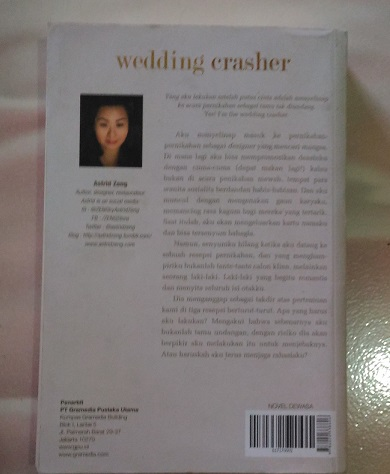 Novel Wedding Crasher