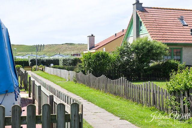Weg zum Ferienhaus Strandslag 284