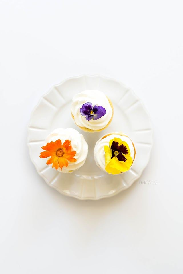 passion fruit cupcake