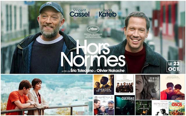 Resumen semanal sobre el cine en Los Lunes Seriéfilos