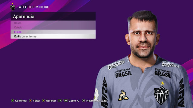 PES 2020 Victor Leandro Bagy Face by Kleyton Facemaker