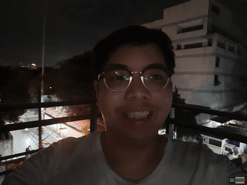 Samsung Galaxy A51 low light selfie