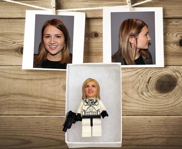LEGO với khuôn mặt của bạn, tại sao không ?