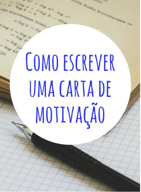 Como Escrever Uma Carta De Motivação Para Mestrado
