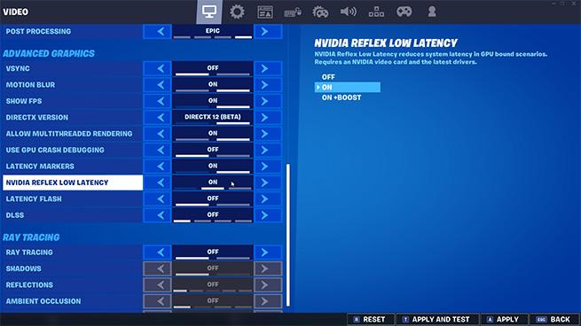 Nvidia Reflex Low Latency