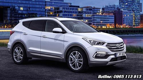Hyundai Santa Fe 2016 Hải Phòng