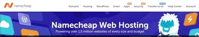 NameCheap Feature