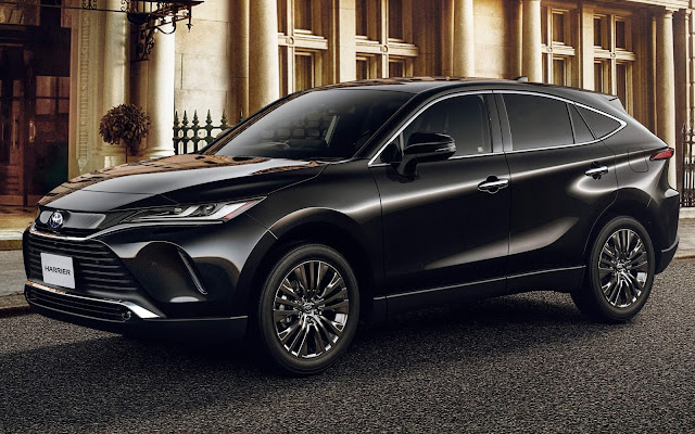Novo Toyota Harrier 2021