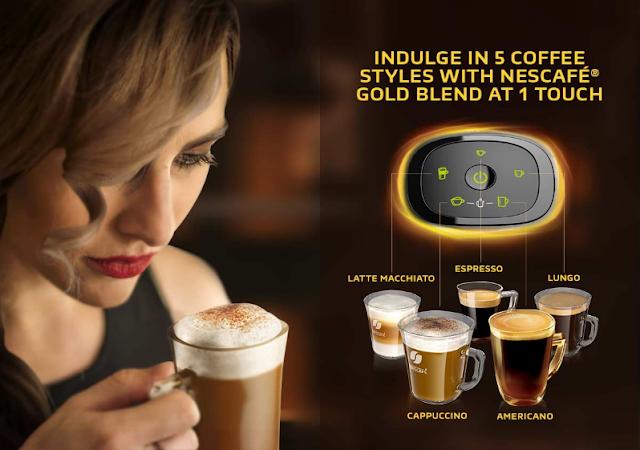 Nescafe Barista, Nescafe Gold Blend,