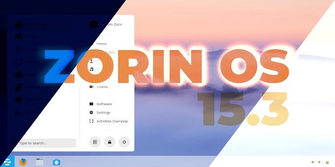 Zorin OS 15.3 chega com base Ubuntu 18.04.5 LTS!
