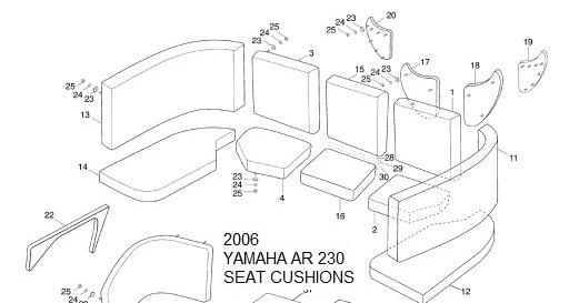 YamahaGenuineParts.com: Yamaha Jet Boat Cushions