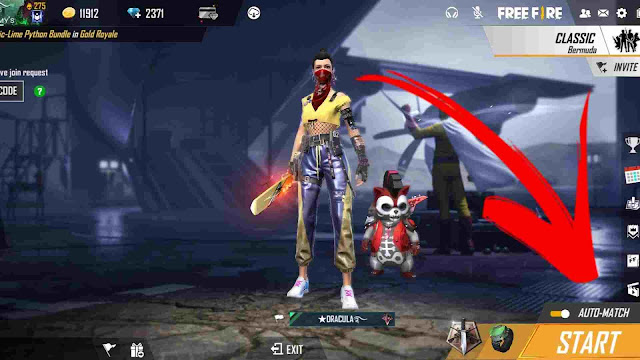 What is Auto Match in Garena Free Fire