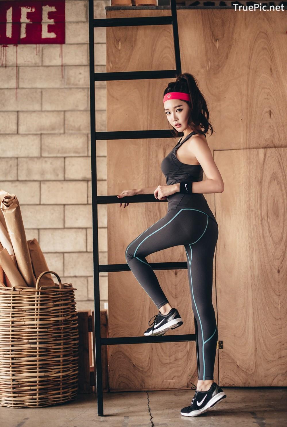 Image Korean Fashion Model - Yoon Ae Ji - Fitness Set Collection - TruePic.net - Picture-5