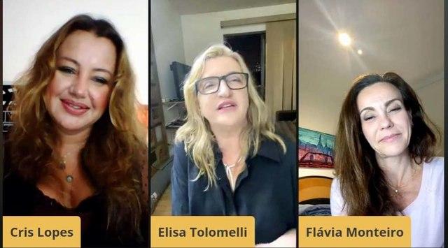 "Programa ""Talentos do Brasil"" com presença surpresa para a entrevistada Elisa Tolomelli"