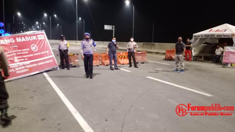 Patroli Khusus C3, Polres Dumai melalui Polsek Jajaran laksanakan KRYD