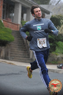 Tony Florida running the Yuengling Lager Jogger 5k in 2016