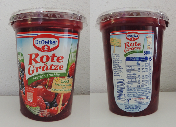 Rote Grtze Mit Vanilleeis Und Beerenspie  Rezepte Suchen