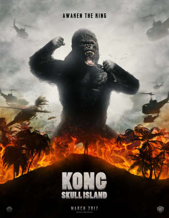 Kong Skull Island 2017 Hindi Dual Audio BRRip Full Movie Download
