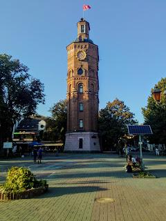 Вінниця. Водогінна вежа. Музей воїнів-афганців