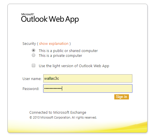 Outlook Web Email Software Update Sbisd Technology Services Newsletter