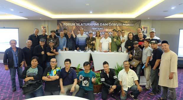 Puluhan Musisi Bandung Diskusikan RUU Permusikan