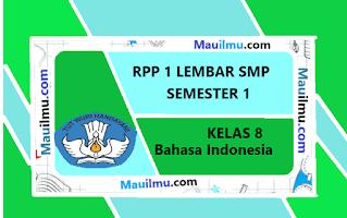 rpp-1-lembar-bahasa-indonesia-kelas-8
