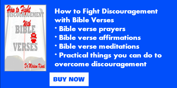 How to fight discouragement with Bible verses book