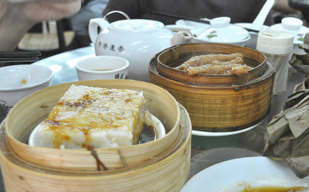 Dim Sum offers a variety of dishes