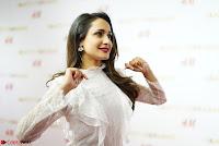 Pragya Jaiswal in lovely Black Mini Skirt and White Transparent Shirt ~  Exclusive 008.JPG