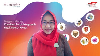 UMKM Naik Kelas Lewat Program Kelas ASIK Astragraphia
