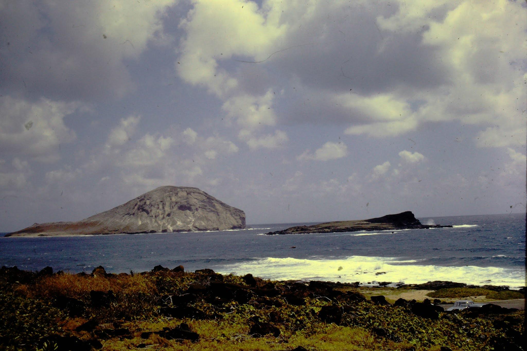 Makapee Point Oahu - 1961