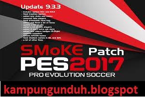 PES 2017 SMoKE Patch Update 9.3.3