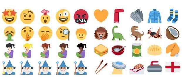 Emojis nuevo en twitter