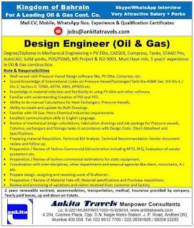 Design Engineer, Ankita Travels