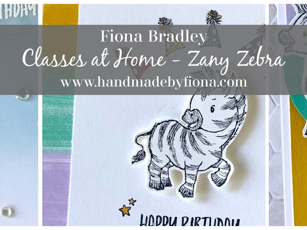 Classes at Home featuring Zany Zebras