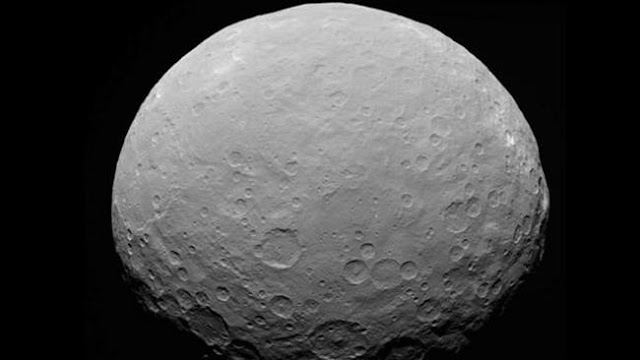 Ceres holds organic compounds, raising prospect of life