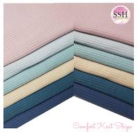 Comfort Knit, Chestnut Knit, Ribbed Cotton Knit, Knitting Fabric, Ironless Fabric, Waffle Knit, Baimond Knit