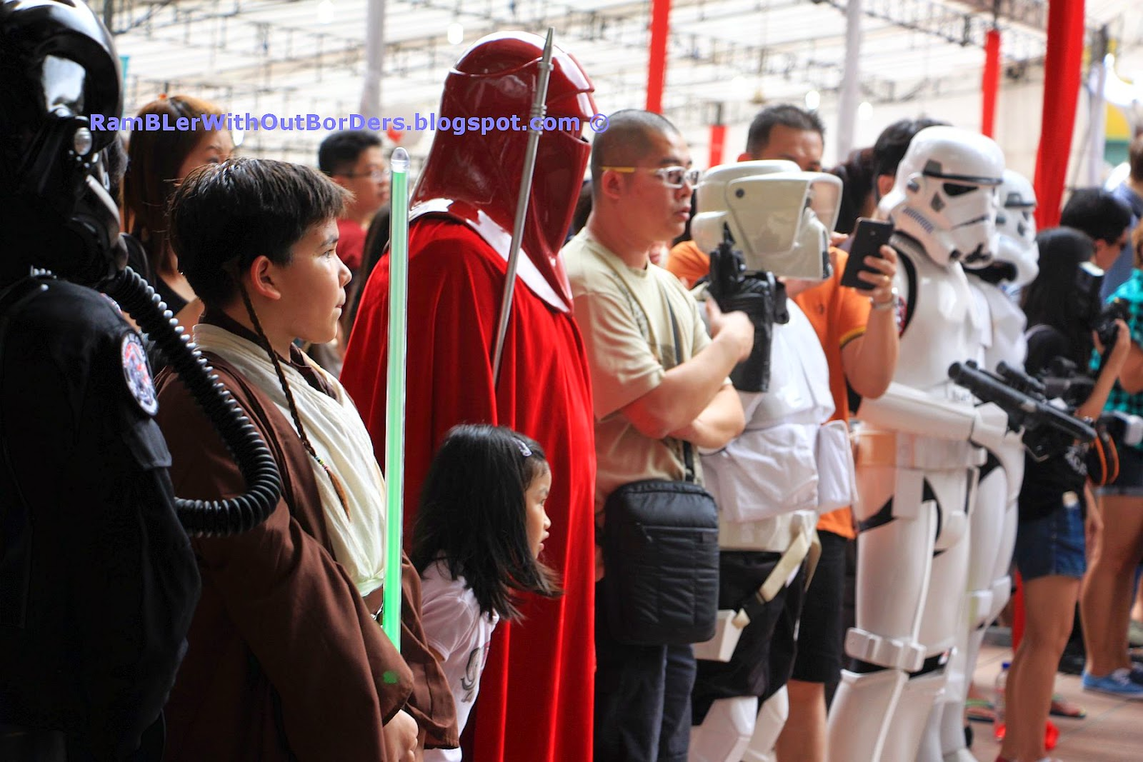 Star Wars characters Reception, Singapore International Red Cross Bazaar 2015