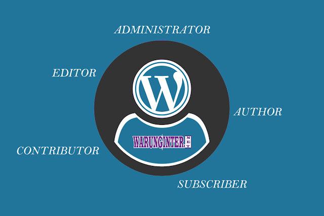 Hak Akses User Pada Wordpress
