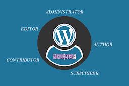 Mengenal Hak Akses User Pada Wordpress