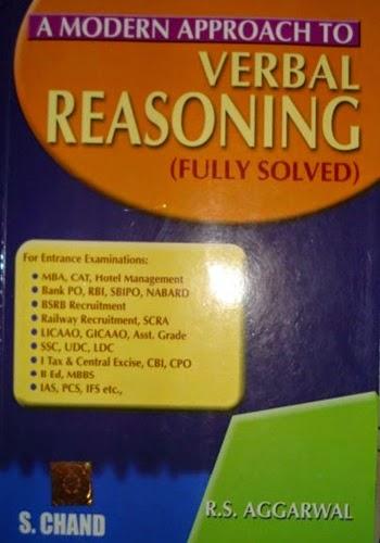 Verbal Reasoning by RS Aggarwal | PDF Adda - Free eBooks Blog