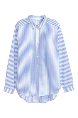 H&M_blue_striped_shirt