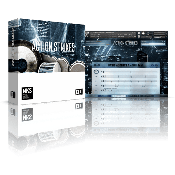 Native Instruments Action Strikes KONTAKT Library