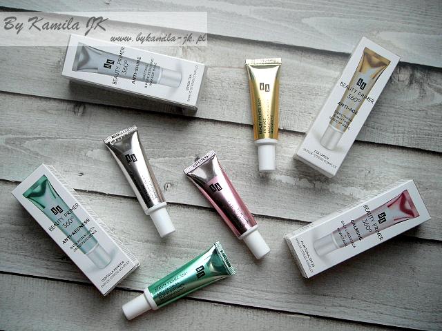 AA bazy pod makijaż Beauty Primer 360 stopni Calming łagodząca różowa Anti-redness redukująca zaczerwienienia zielona Anti-age wygładzająca złota Anti-shine matująca srebrna