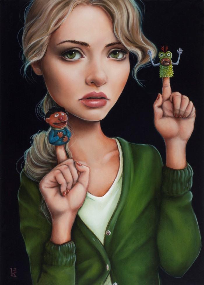 Женские портреты. Ken Keirns