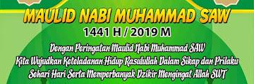 Hadirilah Peringatan Maulid Nabi Muhammad SAW 1441 H di Masjid Al Hidayah Ladang Dalam Tarakan 20191115