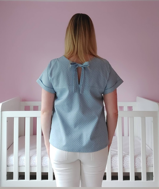 An easy beginner sewing pattern - the Stevie Top by Tilly and the Buttons